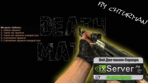 Counter strike deathmatch server by Chturman
