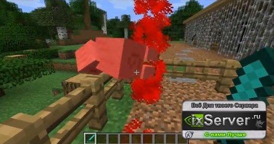 Blood Mod v 2.1 – кровь в Minecraft