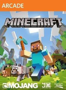 обложка Minecraft на Xbox 360