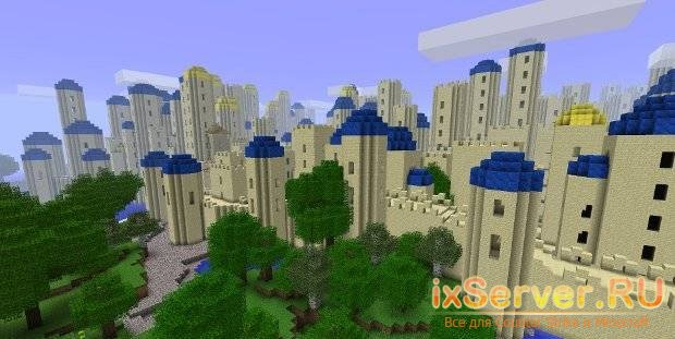 Formivore's Mods - генератор городов, стен и дорог для MineCraft 1.1
