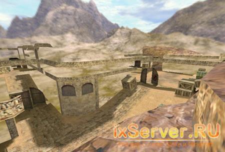 Карта de_dust2_wallless
